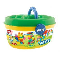 Hystoys Hongyuansheng Aoleduotoys HG-1347 (NOT Lego Duplo Creative ) Xếp hình Sáng Tạo 101 khối