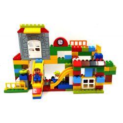 Hystoys Hongyuansheng Aoleduotoys HG-1665B (NOT Lego Duplo Warm Family ) Xếp hình Gia Đình Ấm Áp 168 khối