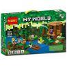 Lepin 18027 Decool 828 Bela 10622 (NOT Lego Minecraft 21133 The Witch Hut ) Xếp hình Ngôi Lều Phù Thủy 502 khối