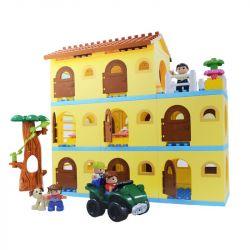 Hystoys Hongyuansheng Aoleduotoys HG-1618 (NOT Lego Duplo Warm Family ) Xếp hình Gia Đình Ấm Áp 93 khối