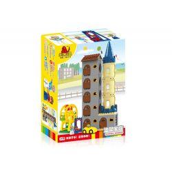 Hystoys Hongyuansheng Aoleduotoys HG-1615 (NOT Lego Duplo Warm Family ) Xếp hình Gia Đình Ấm Áp 65 khối