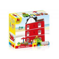 Hystoys Hongyuansheng Aoleduotoys HG-1616 (NOT Lego Duplo Warm Family ) Xếp hình Gia Đình Ấm Áp 80 khối