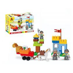 Lego Duplo MOC Hystoys HG-1652 The Age of War Xếp hình 51 khối