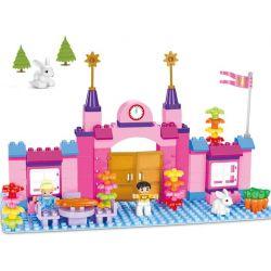 Aoleduotoys GM-5003 Duplo MOC Happy princess Xếp hình Công chúa vui vẻ 100 khối