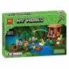 Lego Minecraft 21133 Lepin 18027 Decool 828 Bela 10622 The Witch Hut Xếp hình Ngôi lều phù thủy 500 khối