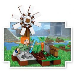 Lele 33040 Minecraft MOC 6 in 1 garden Xếp hình Khu Vườn 406 khối