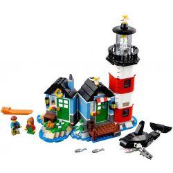 Lele 33017 Minecraft MOC Lighthouse Point 3 in 1 Xếp hình Ngọn hải đăng 553 khối