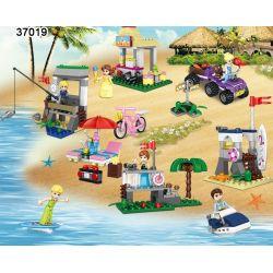 Lego Disney Princess MOC Lele 37019 Set of 6 Boxes Prince Xếp hình Set 6 công chúa Disney 391 khối