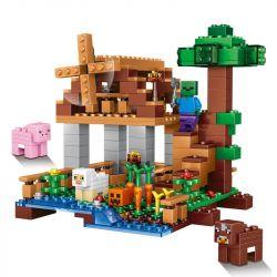 Lele 79289 Minecraft MOC Flevomel The Farm Xếp hình Trang trại Flevomel 314 khối