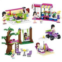Lego Friends MOC Lele 79192 Decorating For Girls' Houses Xếp hình Trang trí nhà cho cô gái nhỏ 366 khối