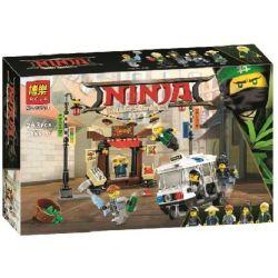 Lepin 06053 Lele 31069 Bela 10714 Sheng Yuan 954 SY954 Decool 20015 (NOT Lego Ninjago Movie 70607 City Chase ) Xếp hình Các Ninja Rượt Đuổi Tội Phạm 249 khối