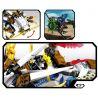 Sembo S8401 Lepin 39007 Ninjago Movie Flame Flying Dragon Xếp Hình Rồng Lửa Bay 335 Khối