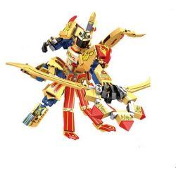 Lego Nexo Knights MOC Sembo S11800 King of Glory Mechs Xếp hình Hiệp sĩ Hanyu phi thần công 288 khối