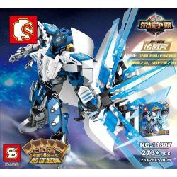 Lego Nexo Knights MOC Sembo S11807 Robot Glory Hegemony Xếp hình 273 khối