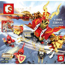 Sembo 11809 (NOT Lego King of Glory King Of Glory: Xia Hou Chun ) Xếp hình Game Liên Quân: Hạ Hầu Đôn 338 khối
