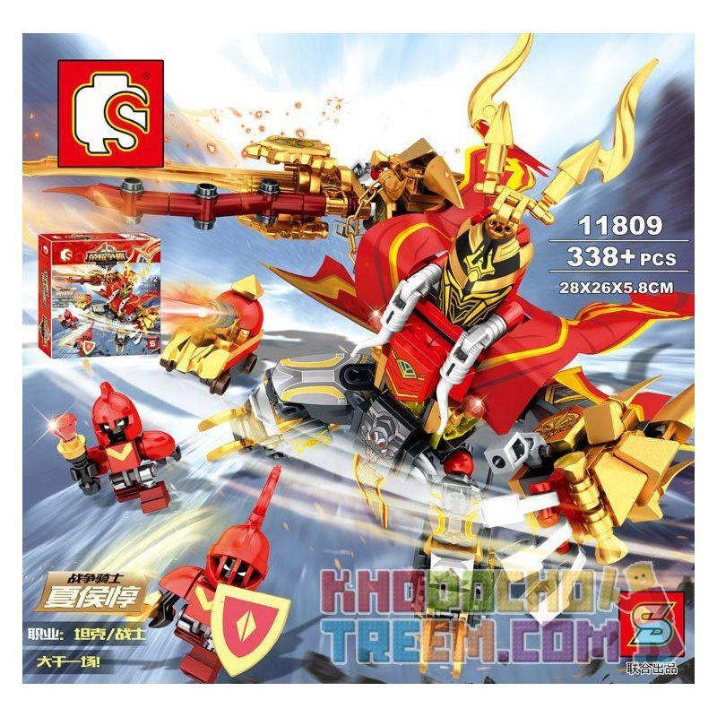Sembo 11809 King Of Glory King Of Glory: Xia Hou Chun Xếp Hình Game Liên Quân: Hạ Hầu Đôn 338 Khối