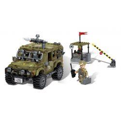 Lego Military Army MOC XingBao XB-06012 The Ryan Car Set Xếp hình 497 khối