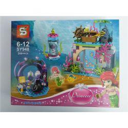 Sheng Yuan SY948 Decool 70218 Disney Princess 41145 Ariel and the Magical Spell Xếp hình Nàng tiên cá và lời nguyền ma thuật 244 khối