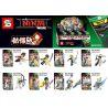 Sheng Yuan SY676 Ninjago Movie Skeleton Version Of Ninjas Xếp Hình Phiên Bản Bộ Xương Của Các Chiến Binh Ninja 127 Khối