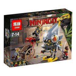 Lepin 06068 Bela 10797 (NOT Lego Ninjago Movie 70629 Piranha Attack ) Xếp hình Tấn Công Cá Răng Đao 243 khối