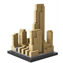 Mini block Architecture Loz 1003 Rockefeller Center Mini Xếp hình Trung tâm thương mại Rockefeller 241 khối