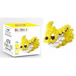Mini block Pokemon LNO 110 Jolteon Xếp hình Pokemon Jolteon 176 khối