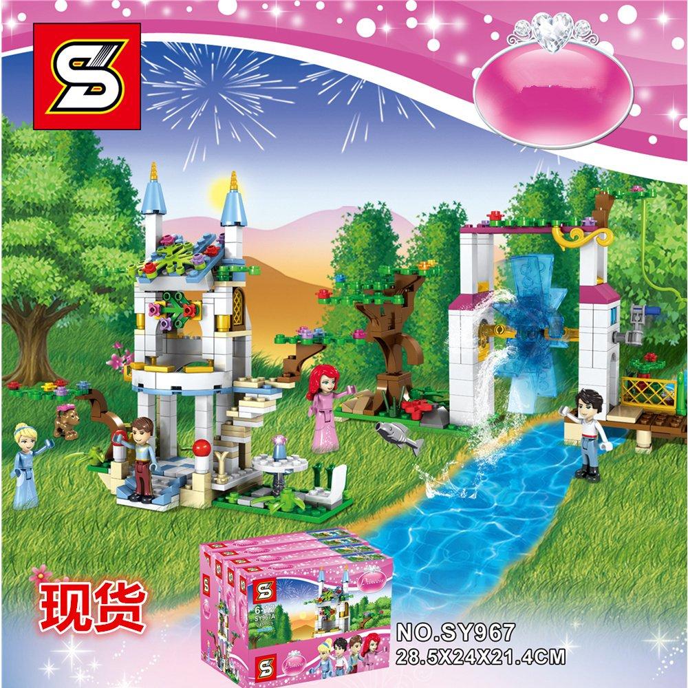 Sheng Yuan Sy967 Disney Princess Moc Magic Castle Xp Hnh Lu I Lego 41060 Sleeping Beautyamp039s Royal Bedroom Ma Thut 471 Khi Gi Sc R Nht