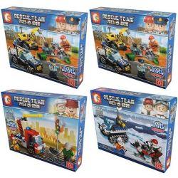 Lego City MOC Sembo SD9350 SD9351 SD9352 SD9353 Tomorrow World Xếp hình thế giới tương lai 503 khối