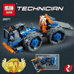 Lepin 20071 Technic 42071 Dozer Compactor Xếp hình Xe lu 191 khối