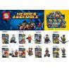 Sheng Yuan SY687 Super Heroes Marvel Superheroes Infinity War-Inspired Minifig Xếp Hình Chiến Tranh Vô Tận Siêu Anh Hùng 175 Khối