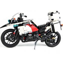 Lego Technic MOC XingBao XB-03019 The Patrol Motorcycle Xếp hình Xe mô tô tuần tra 1075 khối