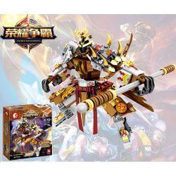 Lego Nexo Knights MOC Sembo S11803 Mech of Three Kingdoms Glory Hegemony Merk Xếp hình 299 khối