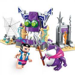 Lego Calabash Brothers MOC Enlighten 2501 Gourd doll brother Calabash Xếp hình Búp bê hồ lô: Anh em nhà Calabash 131 khối
