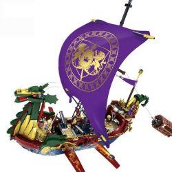Kazi KY87018 The Chronicles of Narnia MOC Pirate Legend Ship Xếp hình Con Tàu Cướp Biển Huyền Thoại 1299 khối