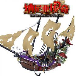 Kazi KY87019 The Chronicles of Narnia MOC The Fall Of Kaizhi's Ship Xếp hình Con Tàu Kaizhi Thất Thủ 1072 khối