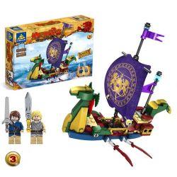 Kazi KY87025 The Chronicles of Narnia MOC The Voyage of the Dawn Treader Xếp hình Hành Trình Trên Con Tàu Dawn Treader Của Lucy Và Edmund 745 khối