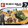 Sembo 11694 (NOT Lego Military Army Tank Attack ) Xếp hình Xe Tăng Tấn Công Khu Vàng Tặc 438 khối