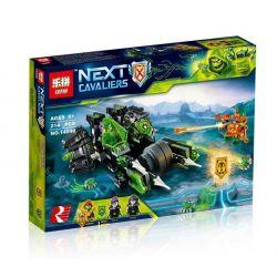 Lepin 14040 Nexo Knights 72002 Twinfector Xếp hình Xe máy đôi 214 khối