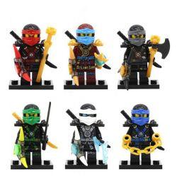 Lego Ninjago MOC Decool 0086 0087 0088 0089 0090 0091 The Ninja Xếp hình Biệt đội Các Chiến Binh Ninja 0 khối