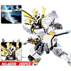 Lego King of Glory MOC Sembo S11806 Lepin 40008 King of Glory Mechs: Preyta Xếp hình Game Liên quân:Kị sĩ dịch bệnh Preyta 285 khối