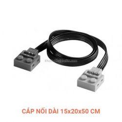 Lepin 8886 8871 Power Functions 8886 8871 Extension Wire 15 20 50 cm Xếp hình Cáp nối dài 15 20 50 cm 1 khối