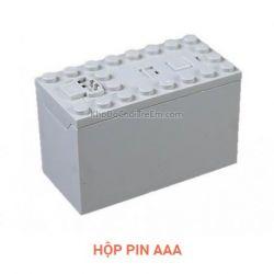 Lepin 88000 Power Functions 88000 AAA Battery Box Xếp hình Hộp pin dùng pin AAA 1 khối