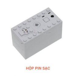 Lepin 8878 Power Functions 8878 Rechargeable Battery Box Xếp hình Hộp pin sạc 1 khối