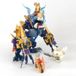 Lego King of Glory MOC Sembo S11828 Nakroth Xếp hình Quỷ âm Nakroth 463 khối
