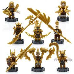 Sheng Yuan 668 SY668 (NOT Lego King of Glory Combo 6 Charaters: Nakroth Wonder-Woman Mganga Omen Violet Lindis Thane Max ) Xếp hình 6 Nhân Vật Trong Liên Quân. gồm 8 hộp nhỏ 152 khối