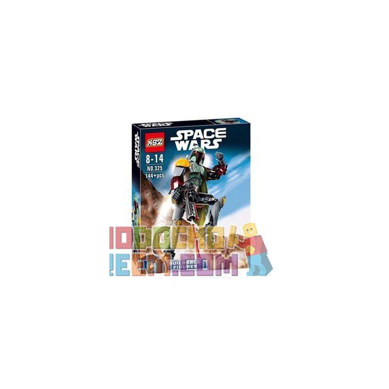 KSZ 325 XSZ Star Wars 75533 Boba Fett Xếp hình Thợ săn tiền thưởng Boba Fett 144 khối