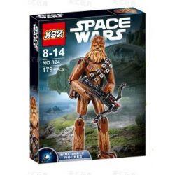 KSZ 324 XSZ Star Wars 75530 Chewbacca Xếp hình Phụ tá Chewbacca 179 khối