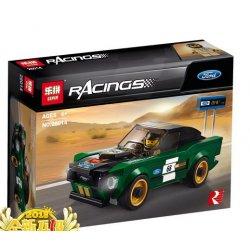 Lepin 28014 Sheng Yuan 6779 Bela 10944 (NOT Lego Speed Champions 75884 1968 Ford Mustang Fastback ) Xếp hình Xe Ford Mustang Fastback 1968 183 khối