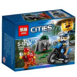 Lepin 02095 City 60170 Off-Road Chase Xếp hình Xe vượt địa hình 47 khối