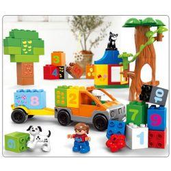 Lego Duplo MOC Aoleduotoys GM-5033 Learning Paradise Xếp hình Thiên đường học tập 47 khối